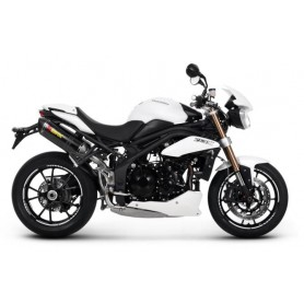 Silencioso Akrapovic Triumph Speed Triple 1050 11-15 Carbono Slip-on Line
