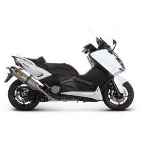 Escape Akrapovic Yamaha T-Max 08- CE Titanio Acero inoxidable Racing Line