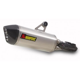 SILENCIOSO AKRAPOVIC BMW R1200GS 2013 SLIP ON TITANIO