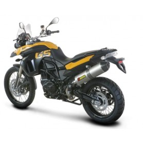 Silencioso Akrapovic BMW F 650 GS 08-12 Titanio Slip-on Line