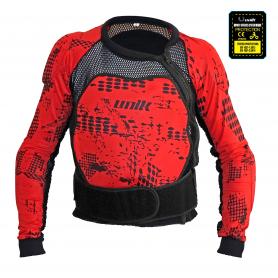 Peto Protector Unik PX-01 Rojo Negro