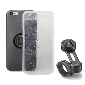 Kit Sp Connect Moto Bundle Samsung S8 Plus / S9 Plus (Carcasa, Funda Lluvia y Soporte)