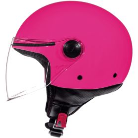 Casco MT Street Solid A8 Rosa Brillo Jet