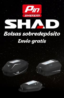 Bolsas sobredepósito SHAD pin system