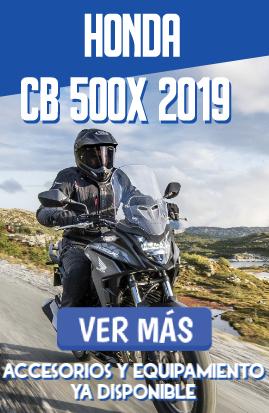 Gama de accesorios HONDA CB 500 X 2019-