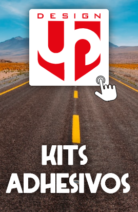 Kit de adhesivos para moto UP