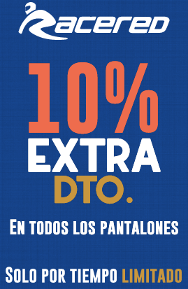 Descuento extra pantalones Racered