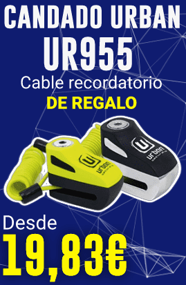 Candado Urban UR955 Cable Recordatorio de Regalo