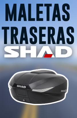 Maletas superiores top cases Shad