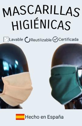 Comprar Mascarillas Higiénicas Anticontagio Coronavirus