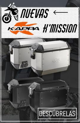 Maletas laterales Kappa K'Mission