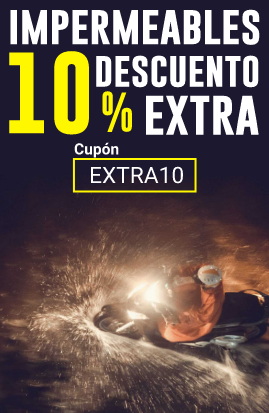 10% dto. extra en impermeables moto