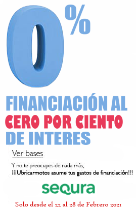 Financiación al 0%