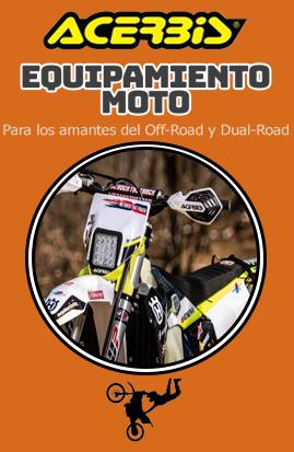 Equipamiento para moto ACERBIS