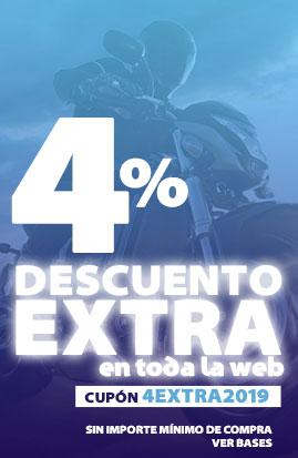 4% descuento extra en Ubricarmotos