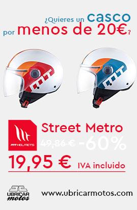 Oferta Casco MT Street 19,95€
