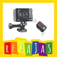 Rebajas Cámaras de Video para Moto