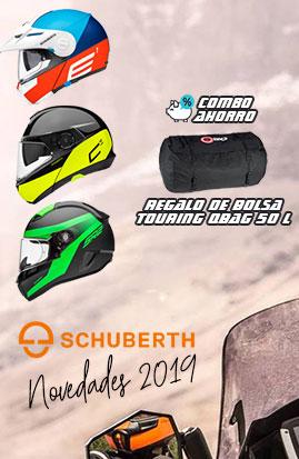Novedades Cascos de moto Schuberth 2019
