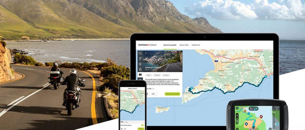 Navegador GPS para moto TomTom Rider 550