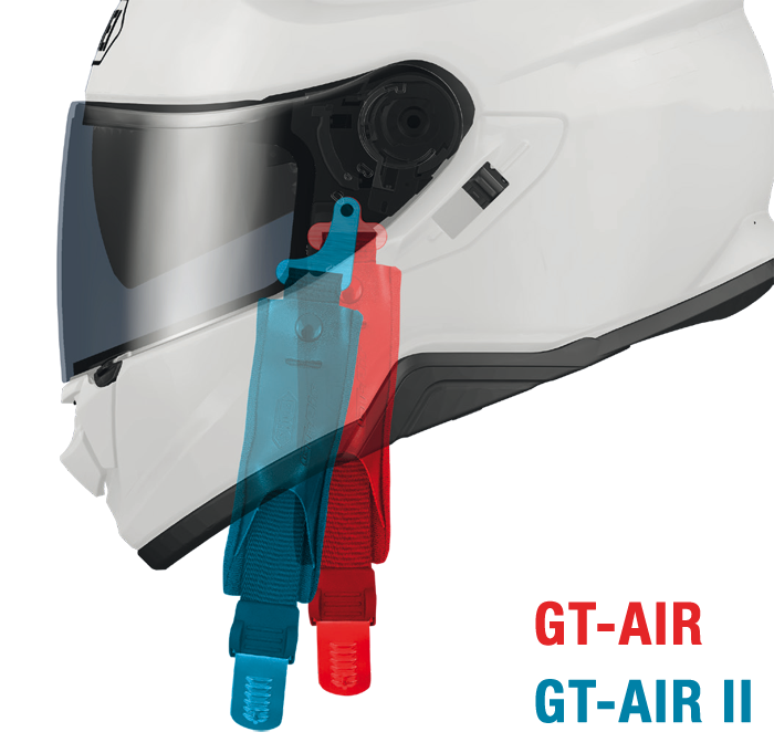 Protección Casco SHOEI GT-Air 2 Crossbar TC1 Integral