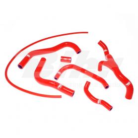 Kit manguitos refrigeración Honda CBR RR 600 07-17 HON-34 Rojo