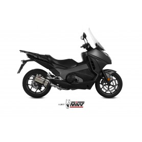 Escape Honda Integra 750 2016- Mivv Suono Slip-On Acero Inox Tapa Carbono