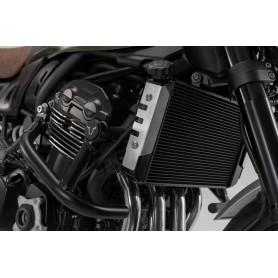 Protector de radiador Kawasaki Z900RS/ Cafe 2017- SW-MOTECH Plateado