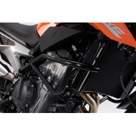 Defensa de motor KTM 790 Duke 2018- SW-MOTECH Negro