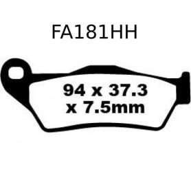 Pastillas KTM 950/990 Trasera EBC Sinterizadas HH