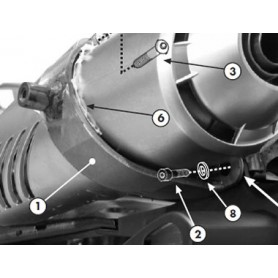 Kit Montaje Soporte sin Monorack Givi Yamaha FZ6/FZ6 600 Fazer (04-06) / S2 (07-11)