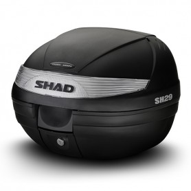Maleta Shad SH29 con Catadiopticos Blancos Capacidad 29 Lts.