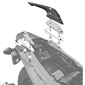 Kit Adaptador Soporte Givi sin Monorack Honda Cbf1000/St 10-11