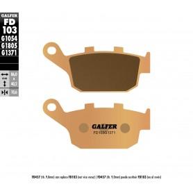 Pastillas Honda CB500F 13-15 Trasera GALFER G1371 Sinterizadas Street