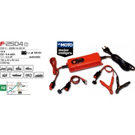 Cargador de Batería Ferve F2504 Automatico para Baterias