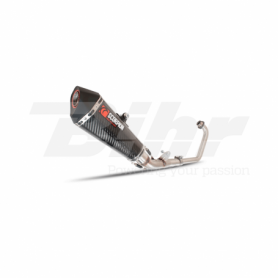 Escape Honda CBR 125R 11- Scorpion Serket cónico Carbono