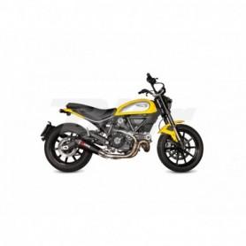Escape Ducati Scrambler 800 15- Scorpion Serket cónico carbono