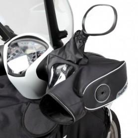 Manoplas Moto Guzzi V65 Tucano Urbano Impermeable con visor manillares con retrovisores