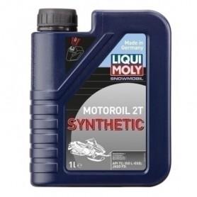 Aceite Liqui Moly 2T 100% sintético motonieve 1L