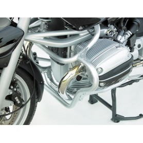 Defensa Motor Inferior BMW R1150R / R850R 2002- Plata Wunderlich