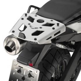 Soporte Givi Maleta Trasera BMW F800GS Adventure 13-17 Monokey Aluminio