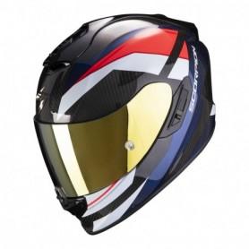 Casco Scorpion Exo EXO-1400 Carbon Air Legione Rojo/Azul Integral