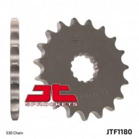 Piñón de Salida Triumph 1050 Speed Triple 12-15 JT JTF1180.18RB Acolchado de Goma 18 dientes