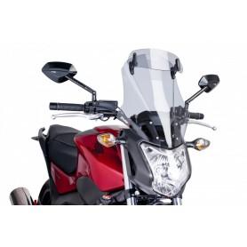 Cupula Honda NC700 S / NC750 S Puig Modelo Touring con Visera Regulable