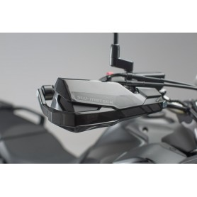 Kit de fijación Cubremanos Kawasaki Versys 1000 18- SW-MOTECH KOBRA Negro