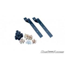 Soporte Universal Lado Izquierdo para Alforjas (con base metálica) Custom Acces
