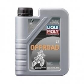 Aceite Liqui Moly 2T semi-sintético 1L Off-road