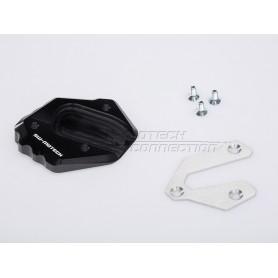 Extensión Caballete lateral Yamaha MT-09 (2013-) Negro/Plateado