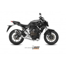 Escape Yamaha Mt 07 2014- Mivv GP Carbono