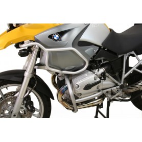 Defensas de motor superior BMW R 1200 GS 2004-07 Plateado