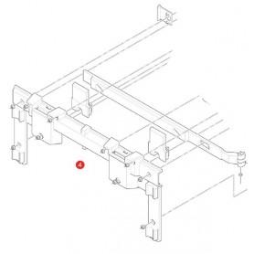 Sistema de fijación lateral izquierdo Givi Trekker Outback OBK48 y OBK37